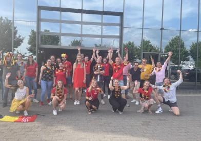 EK 2021: Denemarken vs. België